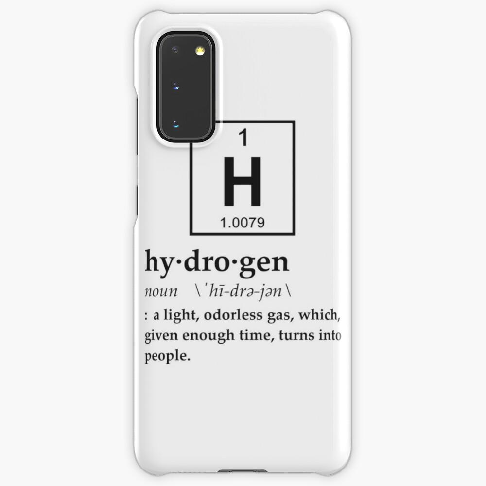 Anthropomorphic Definition of Hydrogen Samsung Galaxy Phone Case