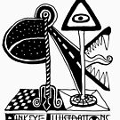 Pinkeye Illustrations - BE THE AD by Angelina Elander