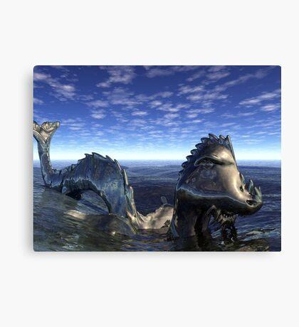 The Last Water Dragon - Nahm Canvas Print