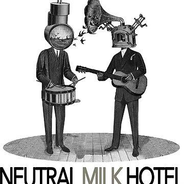 Neutral Milk Hotel by slippi