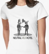 Neutral Milk Hotel Women's Fitted T-Shirt