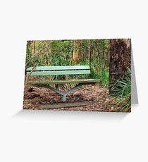 Bush Seat Greeting Card