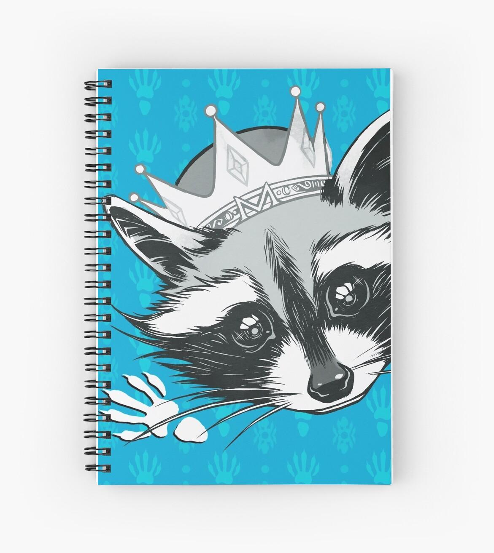 King Raccoon by adryel