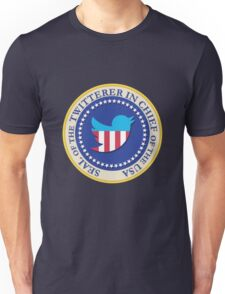 Trump - Twitterer in Chief of the USA Unisex T-Shirt