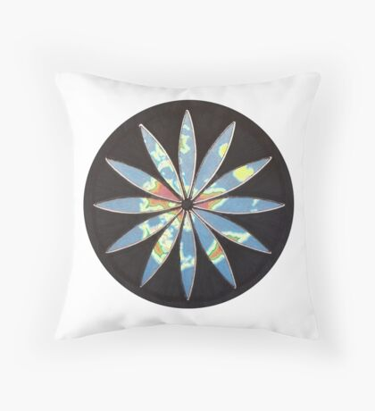 Jerusalem centred  Throw Pillow