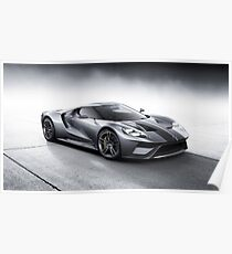 Ford GT 2017 Poster