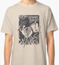 Seltsames Biologie-Antilopen-Skelett Classic T-Shirt