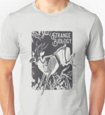 Strange Biology Antelope Skeleton Unisex T-Shirt