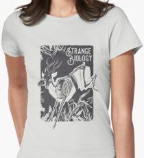 Strange Biology Antelope Skeleton Women's Fitted T-Shirt