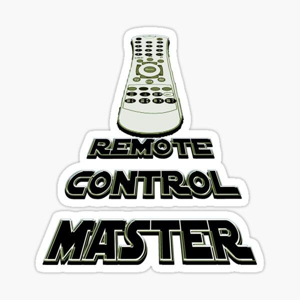 remote control master - sticker Sticker