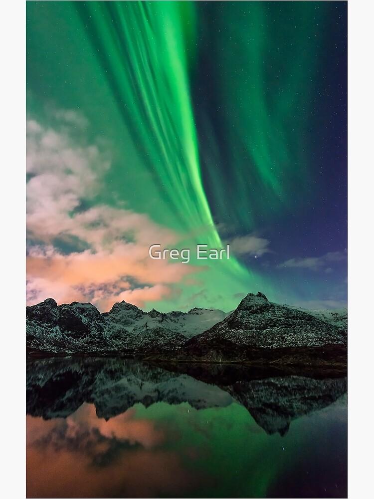 Aurora Borealis - Svolvaer, Norway by GregEarl
