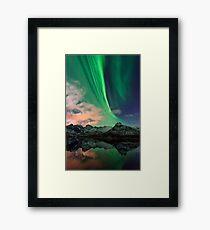Aurora Borealis - Svolvaer, Norway Framed Print