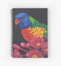 Rainbow Lorikeet Parrot #1 Spiral Notebook