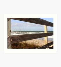 View from the Top of the Dune Art Print