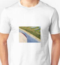 Flying Over the Beach Unisex T-Shirt