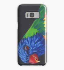 Rainbow Lorikeet Parrot #1 Samsung Galaxy Case/Skin
