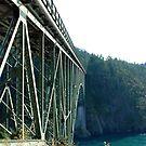 Bridge over Deception Pass by Deborah Singer