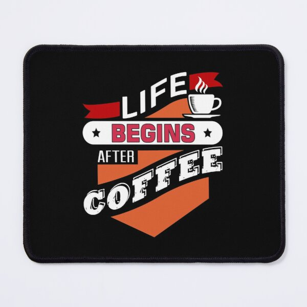 Begin Coffee Mouse Pad
