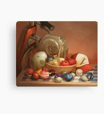 Pokemon Still Life Canvas Print