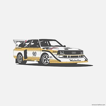 Audi Quattro by remove-before