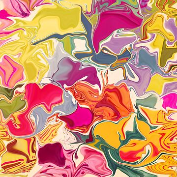 Jazzy Swirlplay II by LeahQuinnDesign