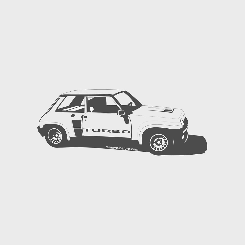 Renault 5 Turbo by remove-before