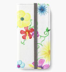 Spring Flowers iPhone Wallet