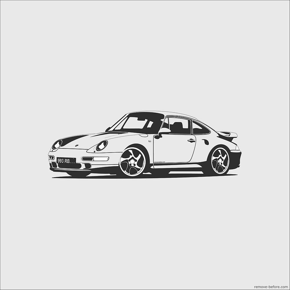 Porsche 993 Turbo by remove-before
