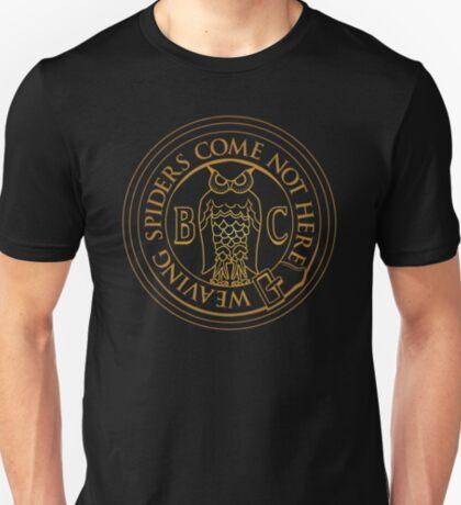 Bohemian Grove Owl - Golden T-Shirt