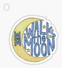 Walk the Moon Logo Sticker