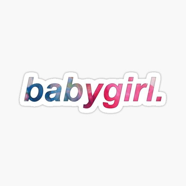 babygirl. Sticker