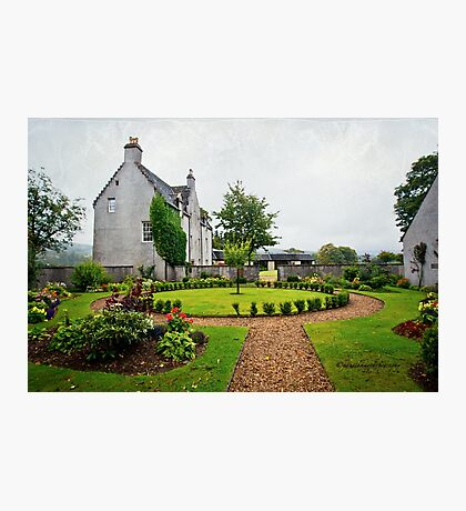 Easter Elchies house - The MacAllan Photographic Print
