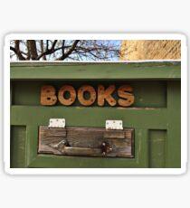 Books, books, books Sticker