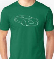Bugatti Veyron graphic (White) Unisex T-Shirt