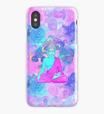 Trippy Buddha iPhone Case