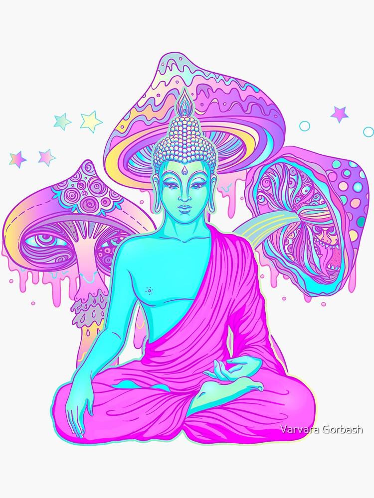 Trippy Buddha by varka