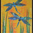 Dragonflies by ShellsintheBush