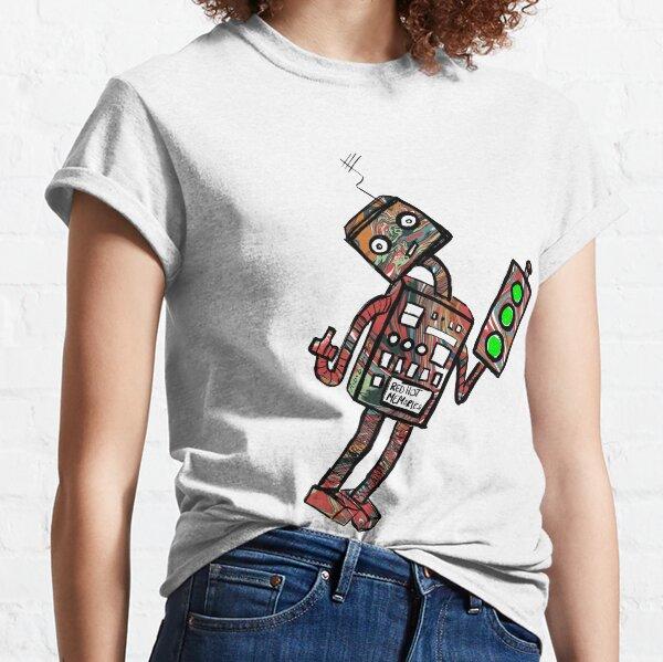 Robots and traffic lights Classic T-Shirt