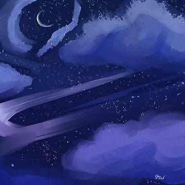 Night Sky by starredforlife