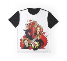Kylie Minogue - Confide In Me - Comic Book Red Graphic T-Shirt