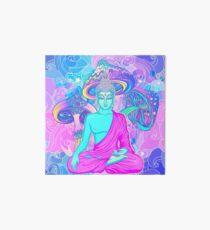 Trippy Buddha Art Board