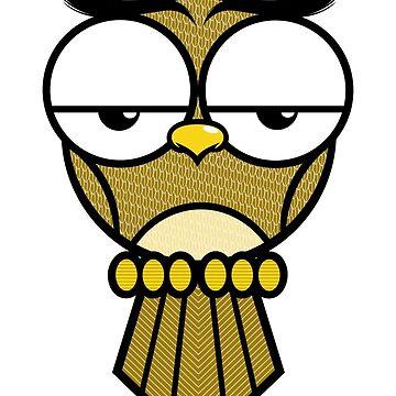 Lazy Owl by cmarts
