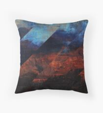 Deconstructing Time Altered Landscapes Grand Canyon Throw Pillow