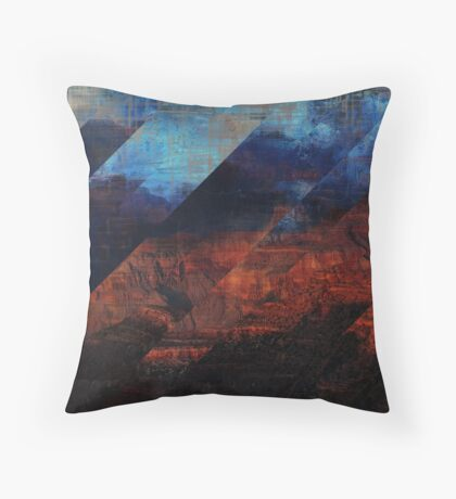 Deconstructing Time Altered Landscapes Grand Canyon Coussin