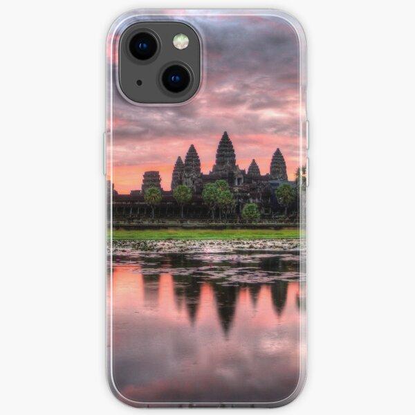 HDR Angkor Wat Sunrise iPhone Soft Case
