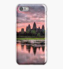 HDR Angkor Wat Sunrise iPhone Case/Skin