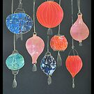 Gelli Print Lanterns by ShellsintheBush