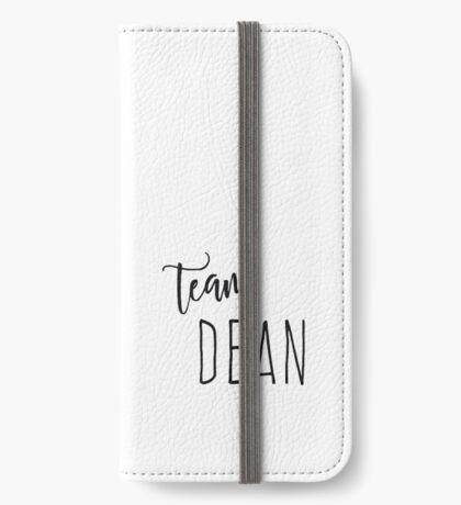 Team Dean iPhone Wallet