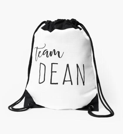 Team Dean Drawstring Bag