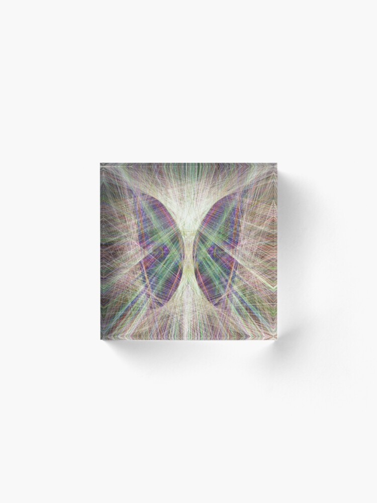 Alternate view of Linify Light butterfly Acrylic Block